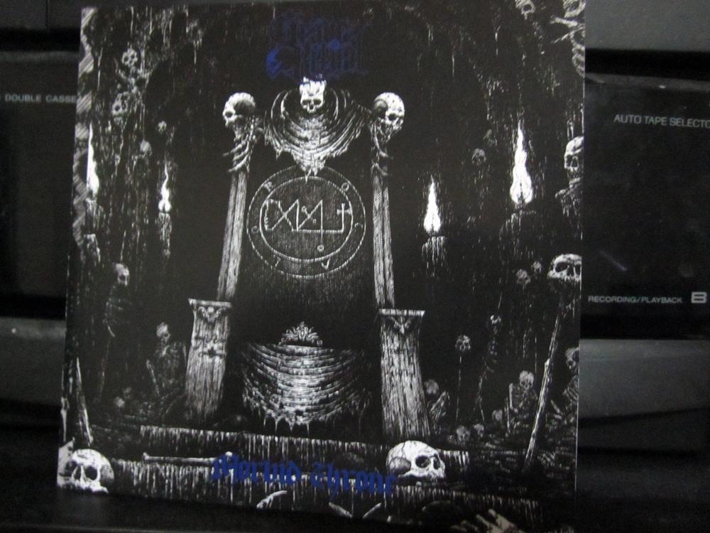 grave ritual morbid throne front